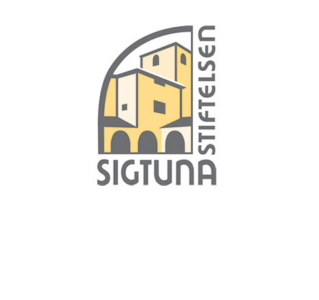 Logotyp Sigtuna Foundation. Illustration.